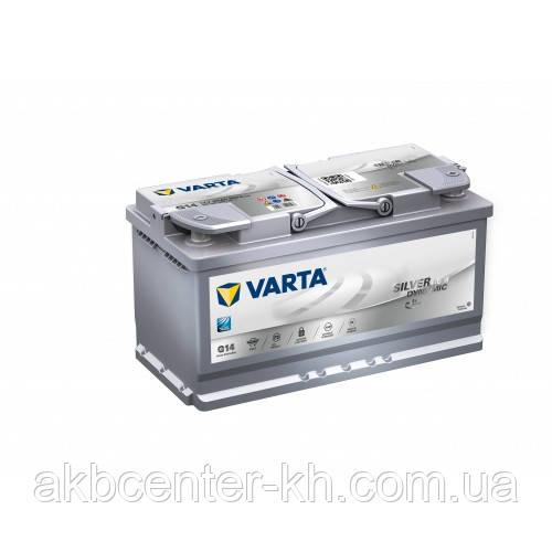 Автомобильные аккумуляторы VARTA 6CT-95Aз 850А R Silver Dynamic AGM