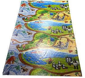 """Дитячий розвиваючий килимок HappyKinder """"Disney Heroes PREMIUM XL"""" 2000х1200х12 мм (KD-XL Premium)"""