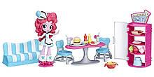 Мини-кукла Пинки Пай Кафе со сладостями