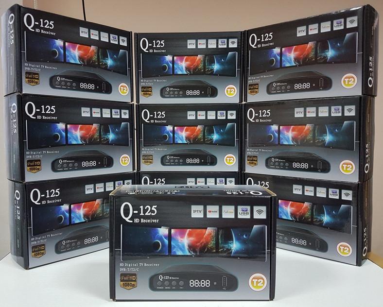 Цифровой эфирный DVB-T2 ресивер приемник тюнер приставка декодер Q-Sat Q-125
