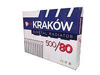 Биметаллический радиатор Krakow 500x80 Польша