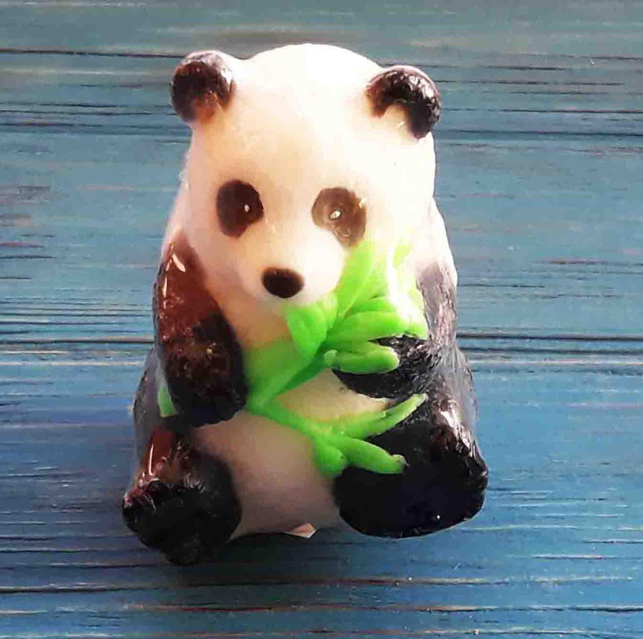 Мыло ручной работы. Панда