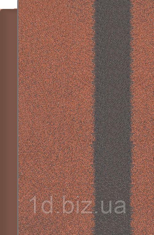 Коньково- Карнизная черепица ROOFMAST, красный