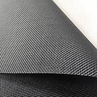 Ткань  для рулонных штор Скрин черная