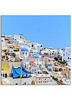 Фотокартина на холсте Греция, 100*100 см