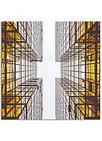Фотокартина на холсте Отражение, 100*100 см