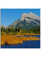 Фотокартина на холсте Горы Канада, 100*100 см