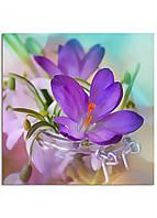 Фотокартина на холсте Скоро весна, 100*100 см