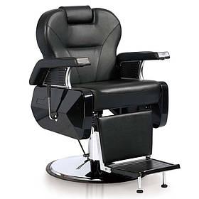 Кресло парикмахерское для barbershop Элит Черное (Frizel TM)