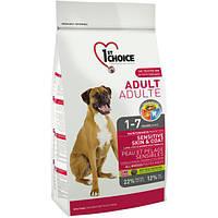 1st Choice Adult Sensitive Skin & Coat корм для собак с чувствительной кожей, 2.72 кг