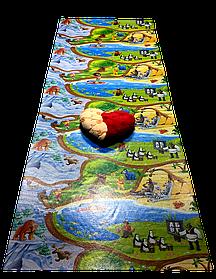 """Дитячий килимок HappyKinder """"Disney Heroes PREMIUM XXXL"""" 3000х1200х12 мм (KD-XXXL Premium)"""