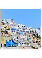 Фотокартина на холсте Греция, 25*25 см