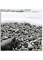 Фотокартина на холсте Морская пена, 25*25 см