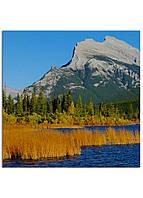 Фотокартина на холсте Горы Канада, 25*25 см
