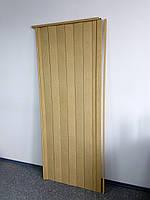 Двери межкомнатные раздвижные дуб светлый Build System 810х2030х6мм доставка по Украине