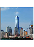 Фотокартина на холсте Нью-Йорк высотки, 30*30 см