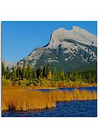 Фотокартина на холсте Горы Канада, 30*30 см