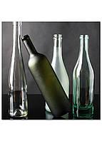 Фотокартина на холсте Натюрморт из бутылок, 30*30 см