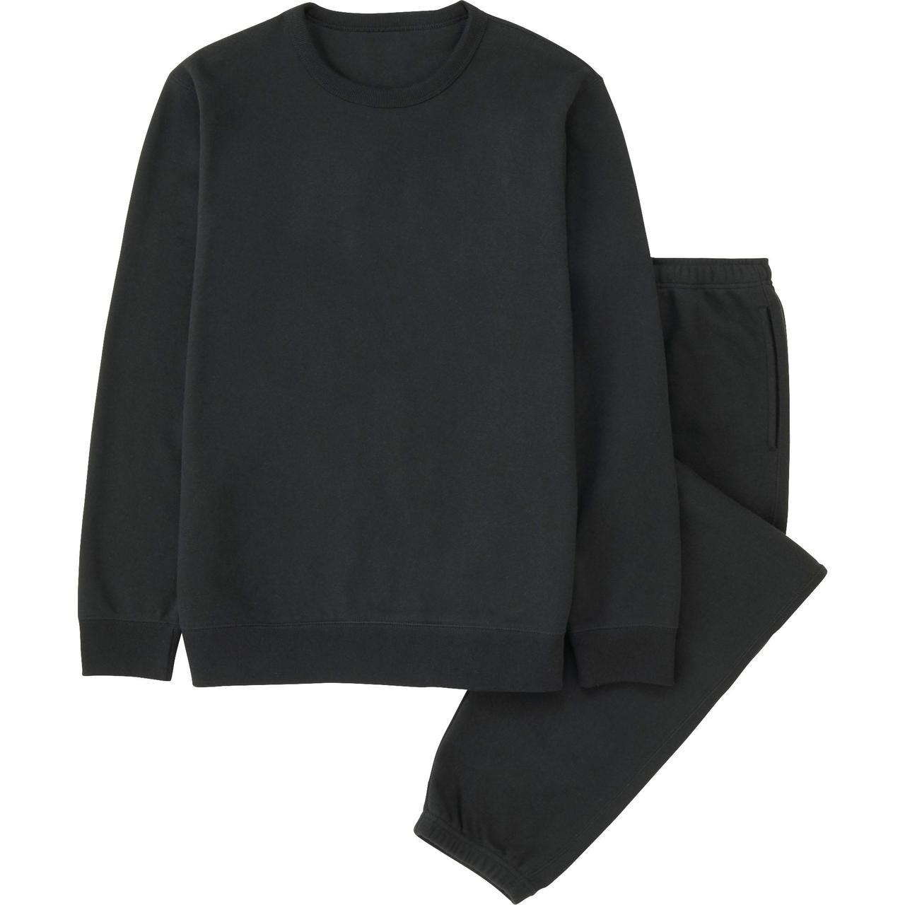 Спортивный костюм Uniqlo Men Sweat Set BLACK