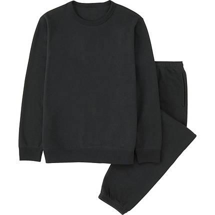 Спортивный костюм Uniqlo Men Sweat Set BLACK, фото 2