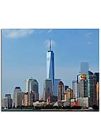 Фотокартина на холсте Нью-Йорк высотки, 30*40 см