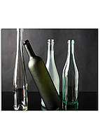 Фотокартина на холсте Натюрморт из бутылок, 30*40 см