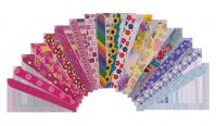 """Пилочка для ногтей """"разноцветная"""" Lily, NF1301"""