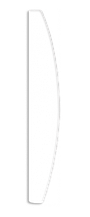 Пилочка для нарощенных ногтей Lily, NF1303
