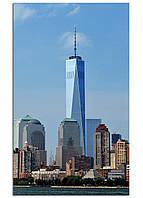 Фотокартина на холсте Нью-Йорк высотки, 30*50 см