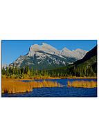 Фотокартина на холсте Горы Канада, 30*50 см
