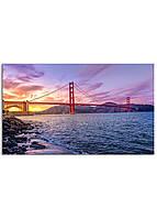 Фотокартина на холсте Мост Золотые Ворота, 30*50 см