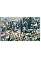 Фотокартина на холсте Бурдж Халифа, 30*50 см