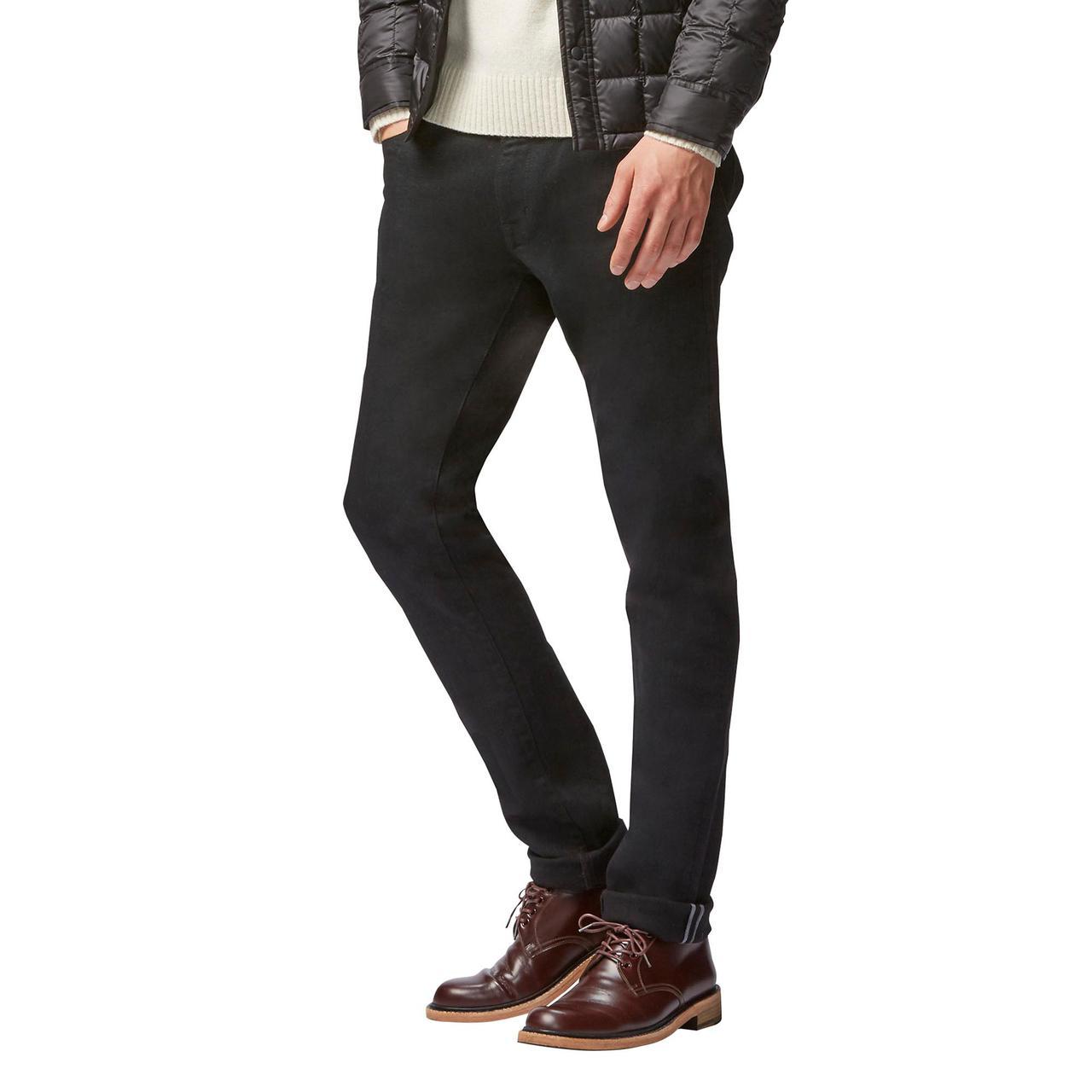 Джинсы Uniqlo Stretch Selvedge Skinny BLACK - Магазин распродаж  SuperStock.com.ua в Днепре a4127218dffa5