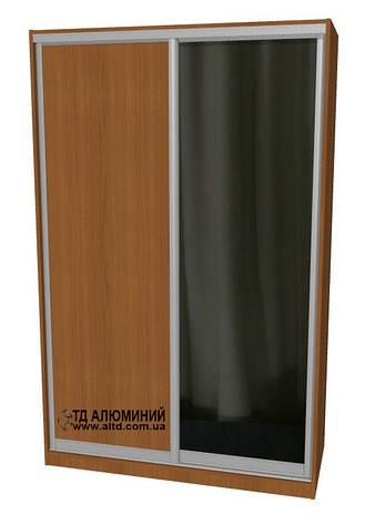 Шкаф купе | Дверь купе ДСП+Зеркало, фото 2