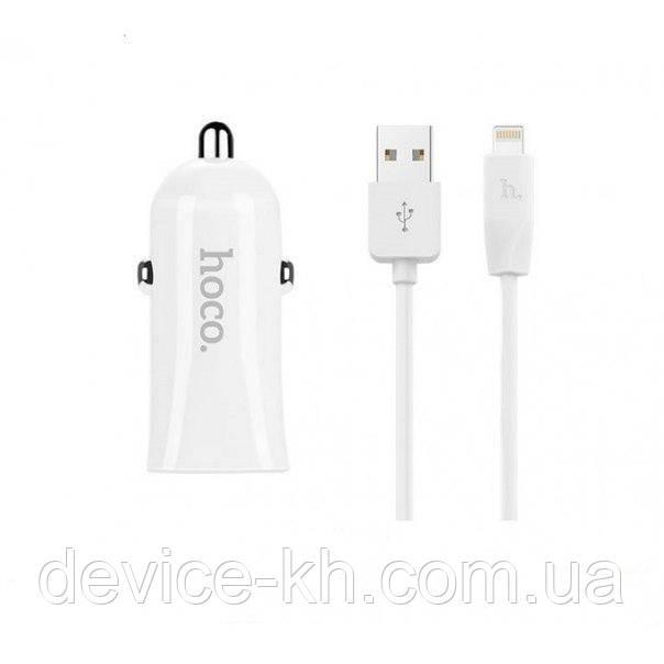 АЗУ Hoco Z12 Elite Lighting 2 USB Port 2.4A