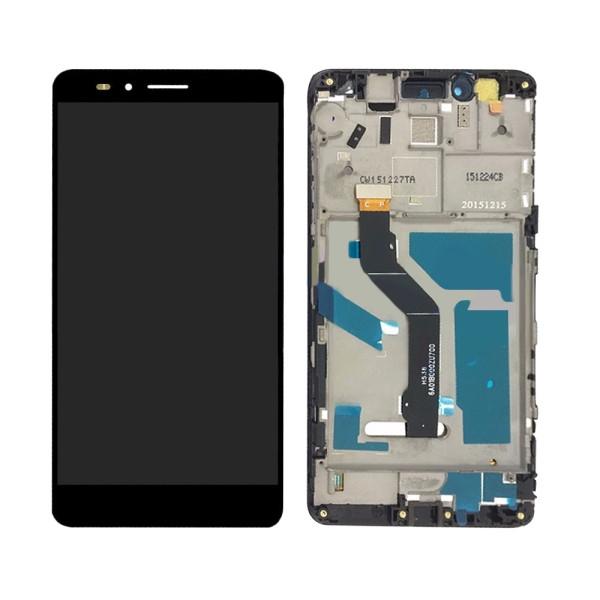 Дисплей Huawei GR5 (2016) Honor 5X KIW-L21 с тачскрином и рамкой черный Оригинал