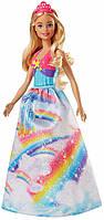 Barbie Принцесса Радужное сияние Barbie Dreamtopia Rainbow Cove Princess Doll, Blonde, фото 1