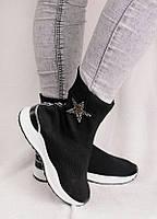 Высокие кроссовки без шнуровки 25970, фото 1