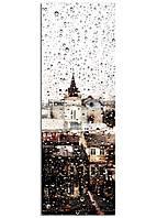 Фотокартина на холсте Бруклинский Мост сепия Україна, 33*95 см