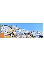 Фотокартина на холсте Греция, 33*95 см