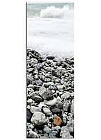 Фотокартина на холсте Морская пена, 33*95 см