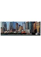 Фотокартина на холсте Нью-Йорк высотки, 33*95 см