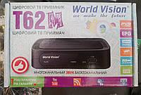 Цифровой ТВ приемник / ресивер World Vision T62M / DVB-T2 (цифровое телевидение Т2), фото 1