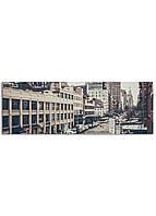 Фотокартина на холсте Трафик, 33*95 см