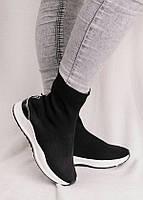 Высокие кроссовки без шнуровки 25969, фото 1