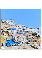 Фотокартина на холсте Греция, 40*40 см
