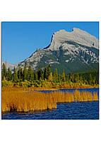 Фотокартина на холсте Горы Канада, 40*40 см