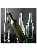 Фотокартина на холсте Натюрморт из бутылок, 40*40 см