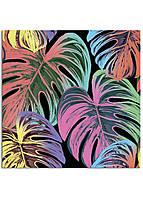 Фотокартина на холсте Тропические листья, 40*40 см