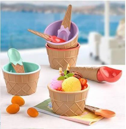 Набор для мороженого Qlux MIX 9 предметов  (L-00611), фото 2